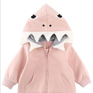 Other - Pink baby shark romper jumpsuit